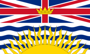 BC flag British Columbia